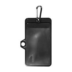 Poche porte-badge ou porte-mobile Noir TU