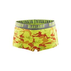 Boxers femme - pack X2 Jaune fluo/Gris XS