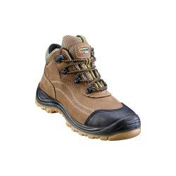 Chaussures de sécurité montantes S3 Marron 45