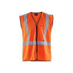 Gilet zippé haute visibilité Orange fluo XL/XXL