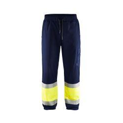 Jogging haute-visibilité Marine/Jaune fluo 4XL