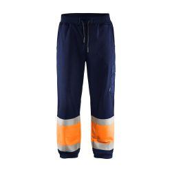 Jogging haute-visibilité Marine/Orange fluo S