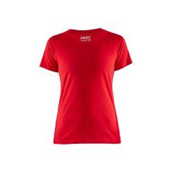 T-shirt femme Rouge S