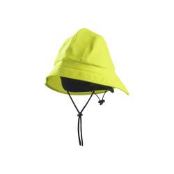 Chapeau de pluie Jaune fluo M/L
