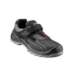 Sandales de Sécurité scratch S1P Noir 36